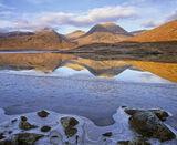Winter Tranquility, Loch Dochard, Highlands, Scotland, silent, chill, dawn, remote   photo