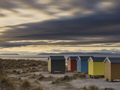 Beach Huts and Oil Rigs