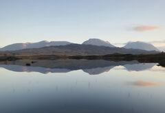 Becalmed Loch Ba