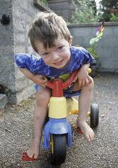 Ben on Trike