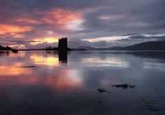 Castle Stalker Sunset 2