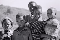 Chimanimani Family, Chimanimani, Zimbabwe, Africa, Agfa Scala,  