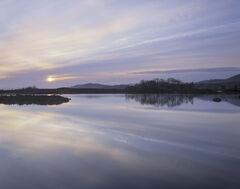 Dawn Mirror Loch Ba