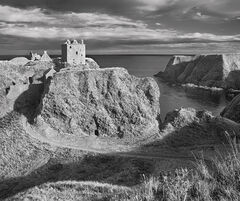 romance, ruin, Dunottar castle, Stonehaven, Aberdeenshire, Scotland, castle, ruin, cliffs,
