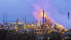 Grangemouth Refinery, Grangemouth, Falkirk, Scotland, twilight, ambient, artificial, lights, beautiful, nightmare