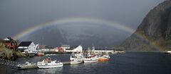 Hamnoy Rainbow
