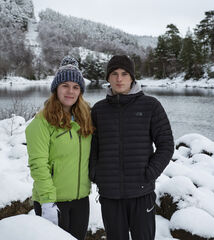 Lauren and Ben Glen Affric