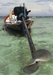 Long Prop, Krabi, Surithani, Thailand, length, boats, prop, Volkswagon, manouvreable, rapid, clear, scale, extension
