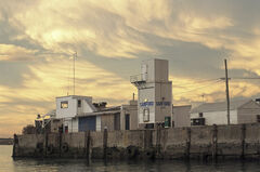 Lurid Light Oamaru, Oamaru, South Island, NZ, bizarre, banana, light, mammatus, clouds, sky, sunset, breast, processin