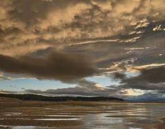 Mammatus Sunset Findhorn, Findhorn, Moray, Scotland, mammatus, pendulous, lobes, uniform, clouds, sunset, sky, apocalypt