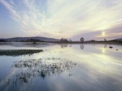 Misty Reflection Loch Ba