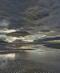 Ominous Findhorn, Findhorn, Moray, Scotland, clouds, sky, dramatic