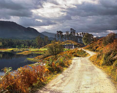 Picturesque Glen Affric