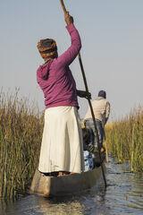 Poling Okavango Delta