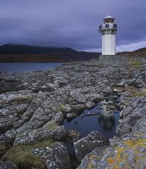 Rhue Lighthouse Twilight