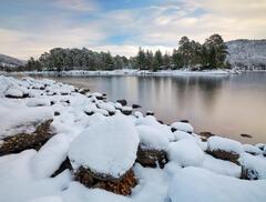 Snow Berets Glen Affric