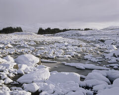 Snow Glascarnoch