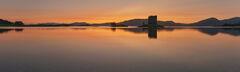 Stalker Sunset Pano Skyline