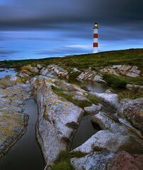 Stripes Lighthouse