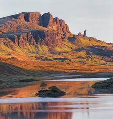 Sunrise Loch Fada