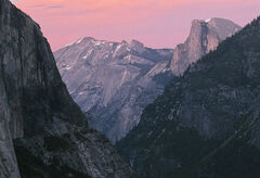 Twilight At Half Dome