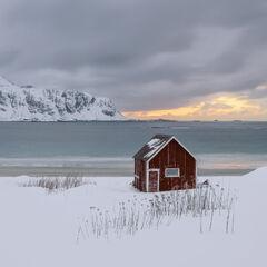 Winter Dusk Ramberg