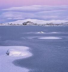 Winter Gloaming Loch Ba