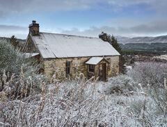 Winter Snow Garve Ruin
