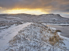 Winter Sunrise Dava Moor