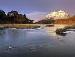 Winter Sunrise Loch Clair