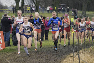 Elite Ladies 1, Edinburgh, Lothian, Scotland, little, Bobby Clay, stature, runners, resolve, win, ahead, elite, race