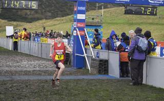 Under 13 Boys Ben 1, Edinburgh, Lothian, Scotland, Ben Cameron, gap, Lewis Dow, David Addison, running, Ethan Elder