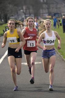 Leading Group 1, Greenoch, Glasgow, Scotland, Anna MacFadyen, Iona Millar, Lauren Dickson, lead, championships