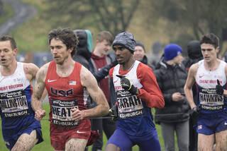 Mens Elite Edinburgh 1, Edinburgh, Lothian, Scotland, 12k, elite, mens, race, Keith Garrett, Mo Farah, winner, American