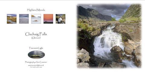 Clachaig Falls.