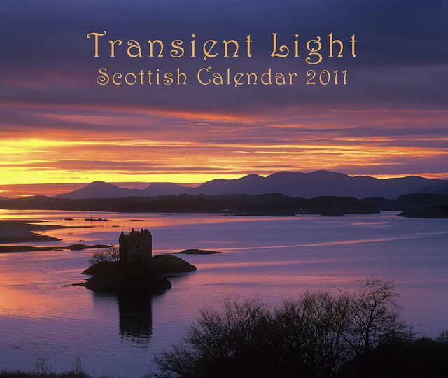 2011 Transient Light Wall Calendars.