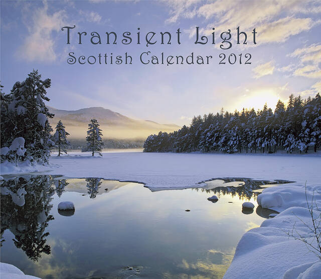 Transient Light Scottish Wall Calendar 2012