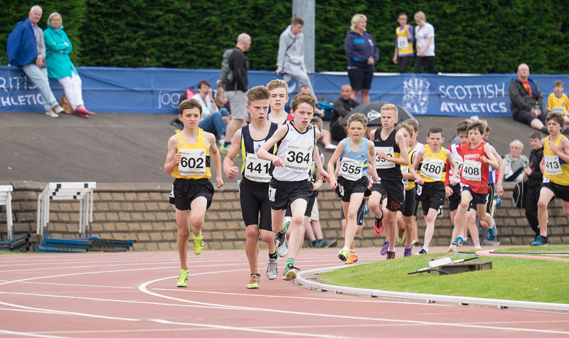 The 2015 Age Group Championships were held at Grangemouth this year and the very best Scottish runners turned out to compete...