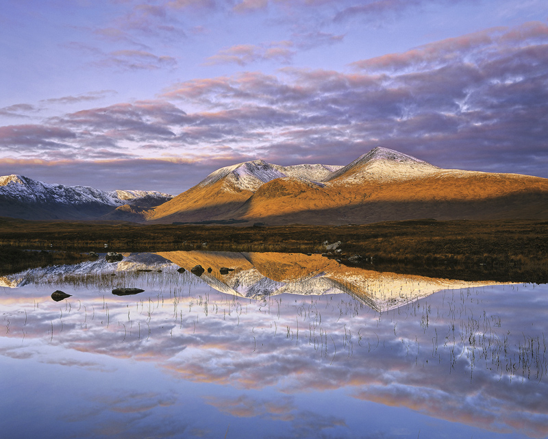 Above and Beyond, Rannoch Moor, Glencoe, Scotland, finest, light, synergy, magnificent, winter, morning, dawn, sunlight, photo