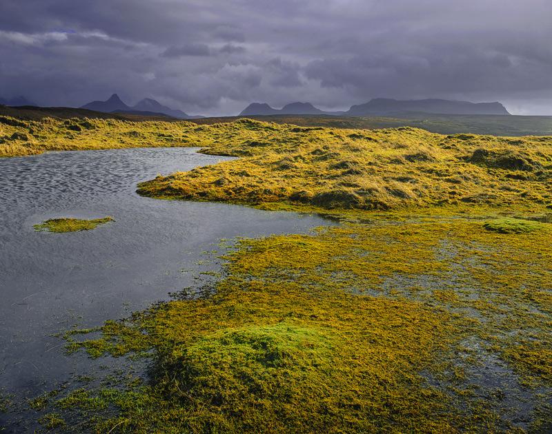 Achnahaird Dune Pools Achnahaird Bay Inverpolly Scotland Transient Light