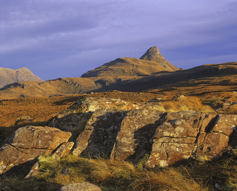Bad A Ghaill Copper, Bad a Ghaill, Inverpolly, Scotland, landscape, complex, land forms, appealing, copper cloak, Stac P photo