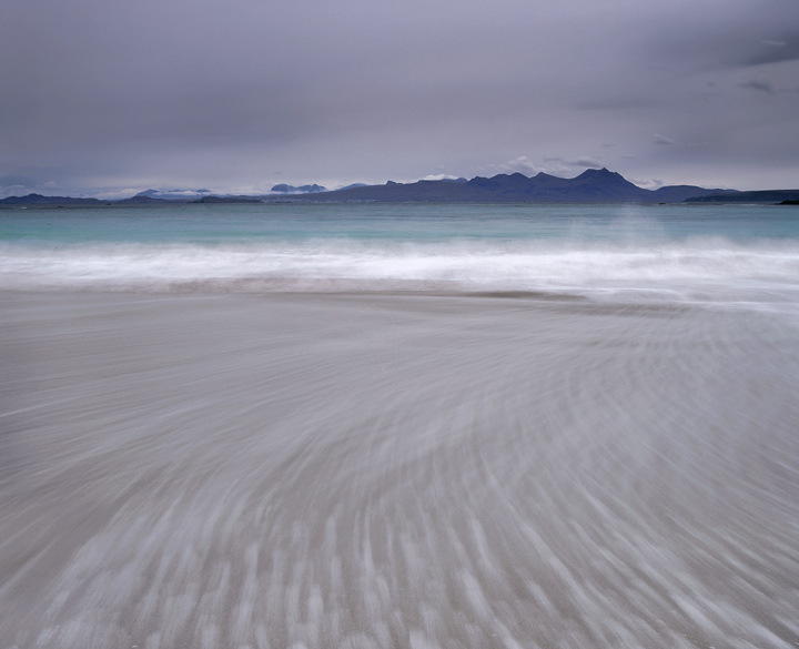 Mellon Udrigle, sea, coast, Laide, Scottish, beach, sweep, sand, moody, dawn, wave, Scotland photo