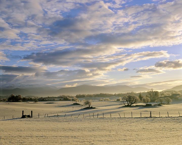 Cairngorm, Gold, Aviemore, Cairngorms, Scotland, golden, frozen, mountains photo