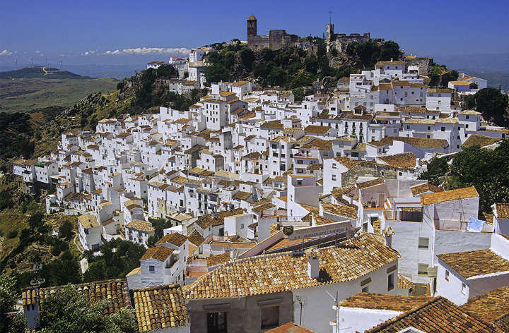 Casares : Casares, Andalucia, Spain : Transient Light