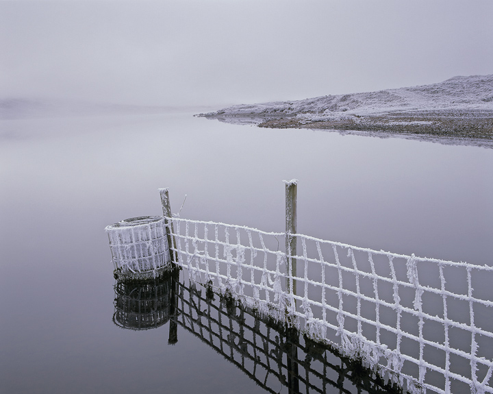 Deathly Hallows, Loch A Chroisg, Achnasheen, Scotland, serene, silence, brittle, cold, morning, tangible, meloncholy  photo