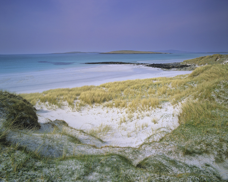 Dunescape Uist, Port Nan Long, North Uist, Scotland, dune, beautiful, white, shell sand, grasses, beaches, accessible, t photo