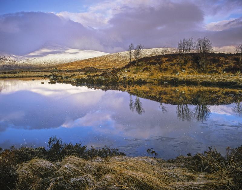 Morning Light >> First Light Rannoch : Rannoch Moor, Glencoe, Scotland : Transient Light
