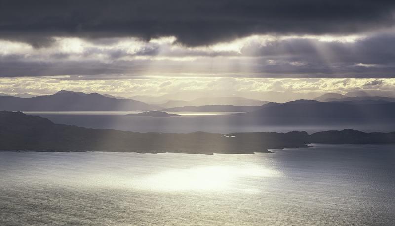 Holy Light The Minch Skye Scotland Transient Light