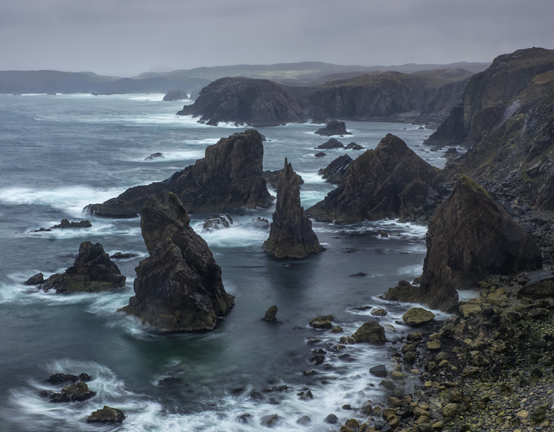 Mangerstadh Swell, Mangerstadh, Lewis, Scotland, harsh, environment, rock stacks, pointed, ugly, Harry Potter, abysmal photo