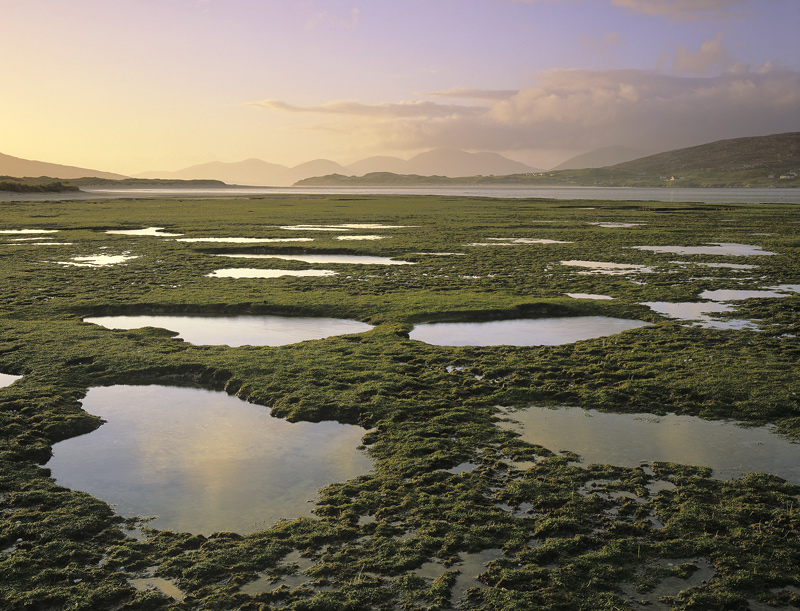 Seilebost Salt Marsh Seilebost Harris Scotland Beautiful Salt